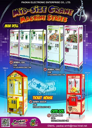 Medium Size Crane Machines